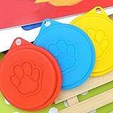Dosendeckel Deckel Für Hundefutter Katzen Nassfutter, ø 88mm , 2 St. , Zufällig Farbe