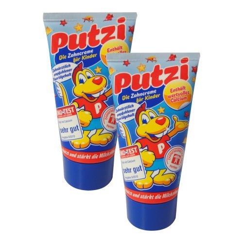 Putzi Die Zahncreme für Kinder 2er Pack (2 x 50 ml)