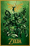 The Legend of Zelda Link Poster Mehrfarbig