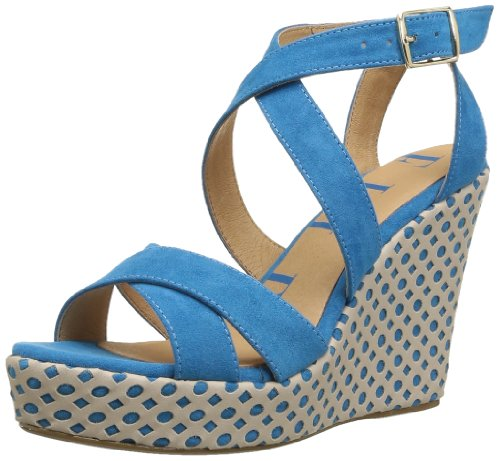 Elle  Passy,  Sandali donna Blu Bleu (Turquoise) 39