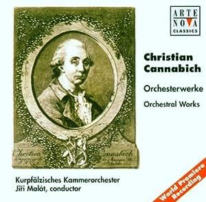 Cannabich: Orchesterwerke