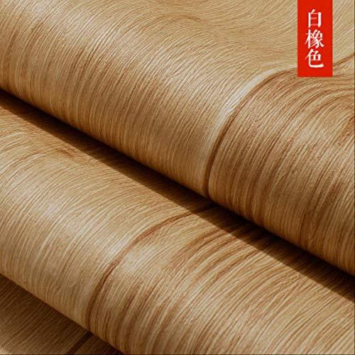 Zfq carta da parati in legno americano, imitazione con pannelli in legno soffitto parete adesivo, soggiorno negozio di abbigliamento carta da parati quercia bianca