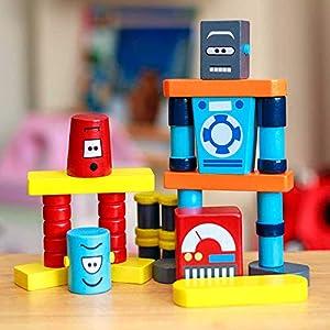 Tobar Robot Building Blocks, Color Color, 29625