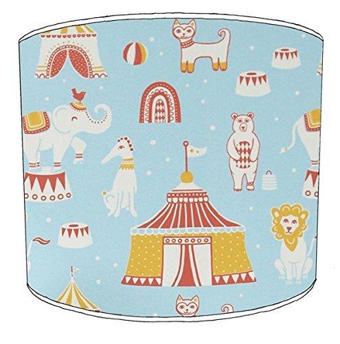 Premier Lampshades 30,5cm Tabelle Circus Print Childrens Lampenschirme8 (Circus Lampenschirm)