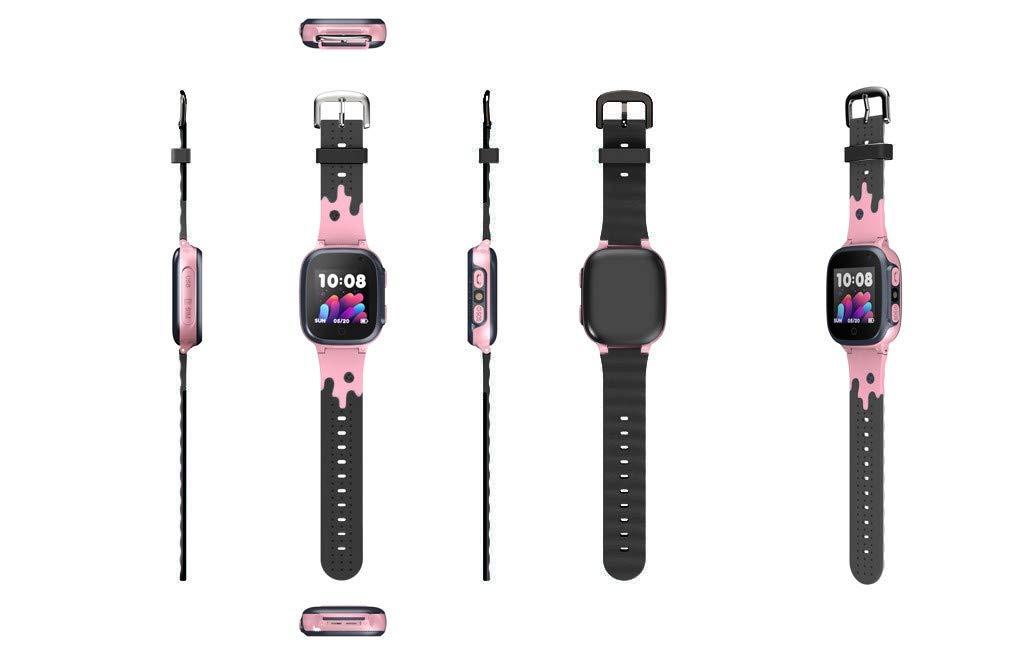BOBOLover Smartwatch Niños, Reloj Inteligente para Niños Impermeable ip67 con LBS, Hacer Llamadas, Chat de Voz, SOS… 6