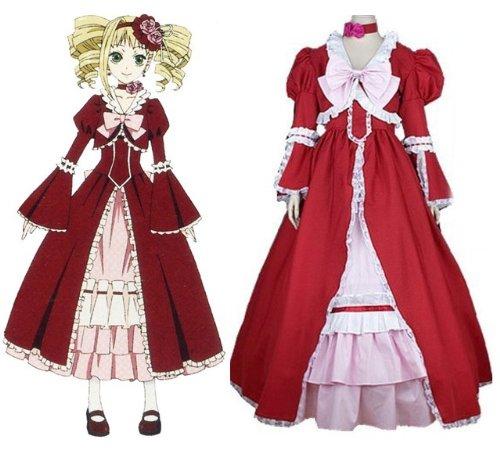 Black Butler Elizabeth·Midford cosplay Kostüm, Größe XL:(170-175 (Kostüm Elizabeth Butler Black)