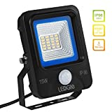 LEDGLE 30W LED Flutlicht mit Bewegungssensor,...