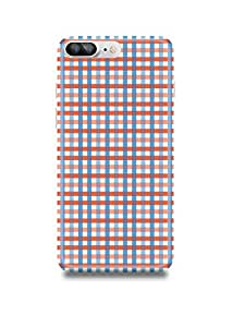 Apple iPhone 7 Plus Cover,Apple iPhone 7 Plus Case,Apple iPhone 7 Plus Back Cover,Checks iPhone 7 Plus Mobile Cover By The Shopmetro-3036-2327