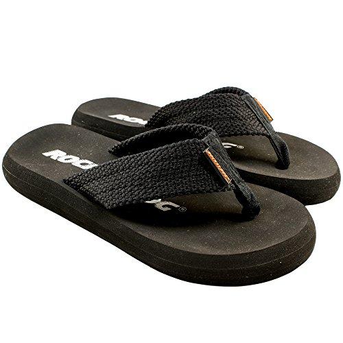 SoYouShoes, Ciabatte da spiaggia donna Nero (nero)
