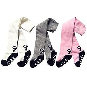XPX Garment 3 Pares de Algodón Medias para Bebé Niña 0-3 años 13
