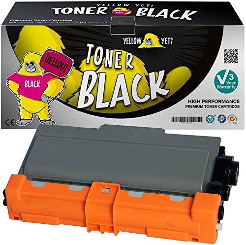 Yellow Yeti TN3380 (8.000 Seiten) Premium Toner kompatibel für Brother HL-5440D HL-5450D HL-5450DN HL-5470DW HL-5480DW HL-6180DW MFC-8510DN MFC-8950DW MFC-8950DWT DCP-8110DN [3 Jahre Garantie]