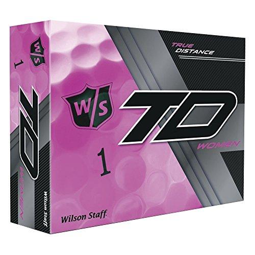 Wilson True Abstand W / S True Abstand Damen WH 12-Ball, Rosa