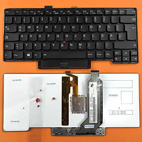 kompatibel für Lenovo Thinkpad X1 Carbon Tastatur 04Y0798 - Farbe: schwarz - mit Beleuchtung - Deutsches Tastaturlayout -