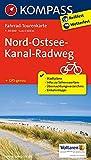 Nord-Ostsee-Kanal-Radweg: Fahrrad-Tourenkarte. GPS-genau. 1:50000. (KOMPASS-Fahrrad-Tourenkarten, Band 7054)