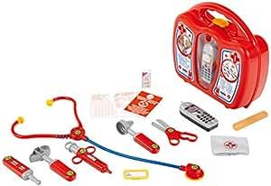 Klein - 4350 - Jeu d'imitation - Mallette docteur avec accessoires et téléphone portable