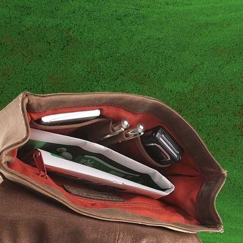 Kleiner Unisex Messenger-Bag / Herrentasche aus geöltem Buffalo Leder . The 'Everyday' Bag. Natural Buckskin