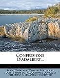 Confessions D'Adalbert......