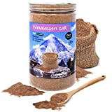 Nortembio Sal Negra del Himalaya 1,35 Kg. Extrafina (0,5-1 mm). 100% Naturales. Sin Refinar. Sin...