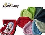 Sweet Baby ** LIMETTE GRÜN ** SOFTY Sitzverkleinerer / NeugeborenenEinsatz für BabyAutositz Gr. 0/0+ wie z.B. Maxi Cosi, Römer etc.