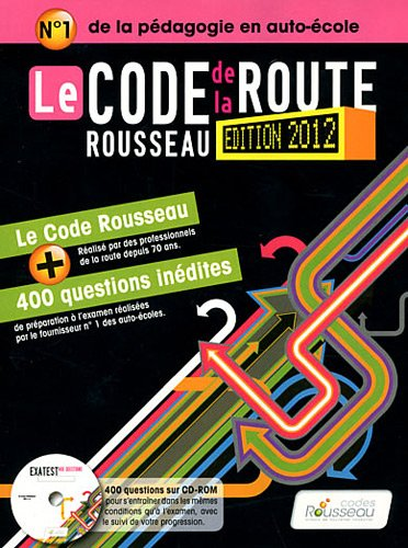 Code Rousseau de la route Permis B 2012 + CD Rom par Codes Rousseau
