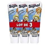 Signal Dentifrice Enfants 7-13 Ans Goût Menthe Douce 75ml - Lot de 3