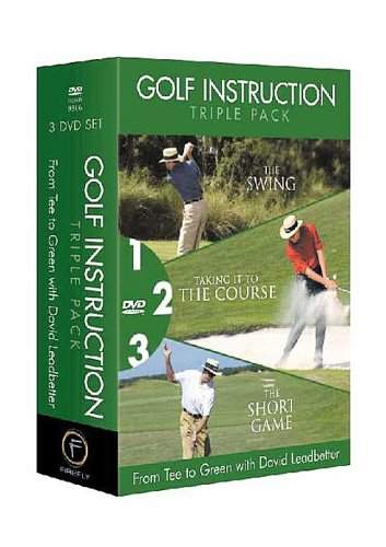 Golf Triple Pack: From Tee to Green (David Leadbetter) [3 DVDs] [UK Import]