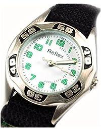 Reflex - 1017110C - Montre pour Garçon Vert Camouflage