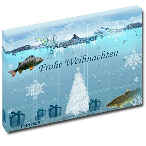 Preisvergleich Produktbild Angel-Berger Adventskalender Weihnachtskalender Angelkalender