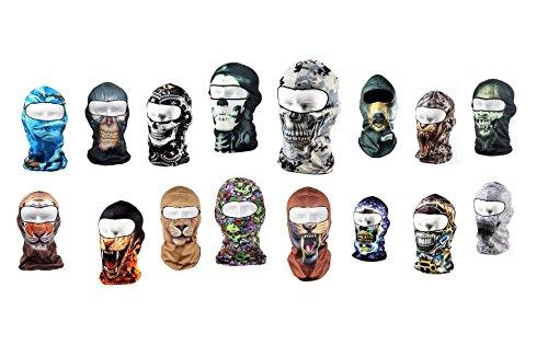 DESIGN FREUNDE Skimaske Snowboardmaske Motorradmaske Sturmhauben in Großer Auswahl Tiermaske Biker Maske Motorrad Maske WINDMASKE Schutzkleidung Maske Mütze Cap Winterbekleidung Skibekleidung Snowboardbekleidung Wintermütze Winterkleidung Kleidung Paintball Kleidung