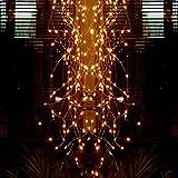 Stringa Luci Led a Batteria, Lauva 100 LED Cascata Luci Della Stringa IP65 Luci del Ramo Decorative di Fata con Telecomando Timer per Albero di Natale Festa Matrimonio Camera da Letto Decorazione