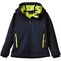 CMP - F.lli Campagnolo, Giacca Softshell Bambino, Blu (Navy Mel.-Lime