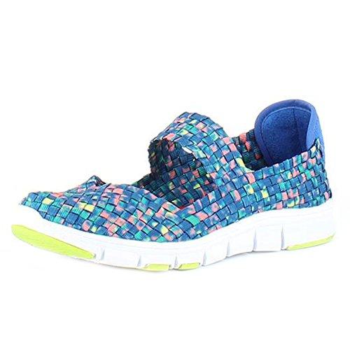 Heavenly Feet  Heavenly Feet - Heavenly Feet Lollipop Ocean Multi Shoes,  Damen Kurzschaft Stiefel Ocean Multi