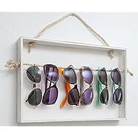 Tosbess Brillenst/änder Brillenpr/äsenter Brillendisplay Holz f/ür 5 Brillen