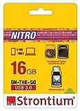 Strontium Nitro SR16GBBOTG2Z 16GB USB OTG Pen Drive (Black)