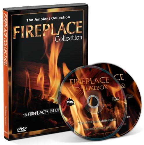 Kaminfeuer - 2 DVD Set - Kaminfeuer Kollektion 2013 mit einer Auswahl von 18 Kaminen mit den Geräuschen des brennenden Holzes (Kollektion 2013)
