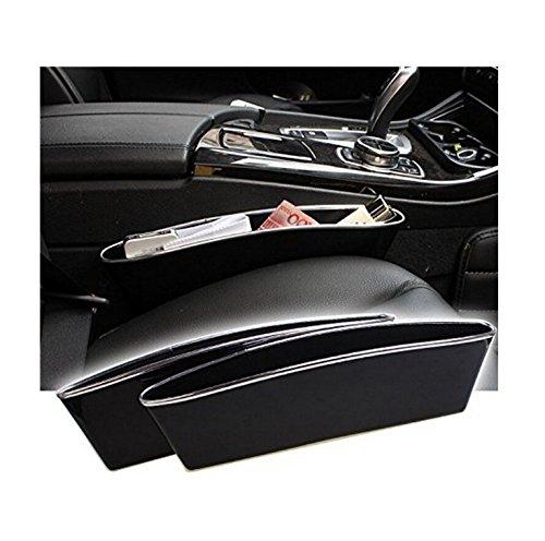 Preisvergleich Produktbild 2 x Car Seat Seiten-Schlitz-Taschen, Auto Catcher Organizer, füllt Lücken zwischen den Sitzen, um Artikel droping verhindern(PTU)
