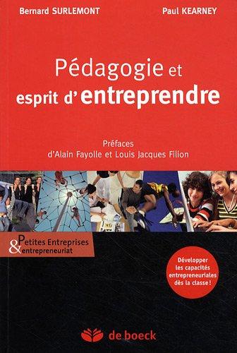 Pdagogie et esprit d'entreprendre