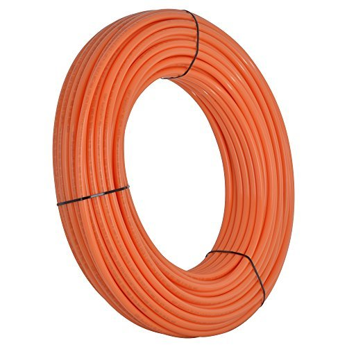 SharkBite U860O500 1/2-Inch PEX Tubing, 500 Feet, ORANGE, for radiant heat, hydronic heating and tile floor heating systems. by SharkBite
