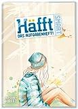 Häfft Smart: A5 Hausaufgabenheft mit verkürztem Innenteil und Kunststoff-Umschlag. Motiv: Mädchen