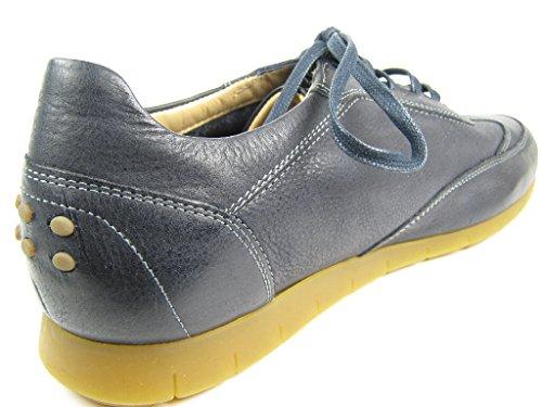 Sioux Deno, Chaussons Sneaker Homme Bleu
