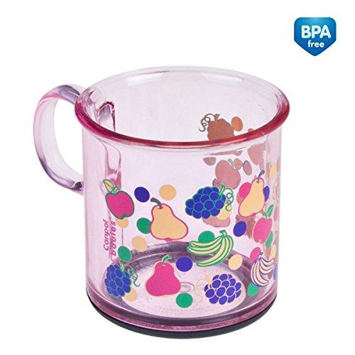 Canpol Baby Trinkbecher BPA Frei Transparent (Rosa)