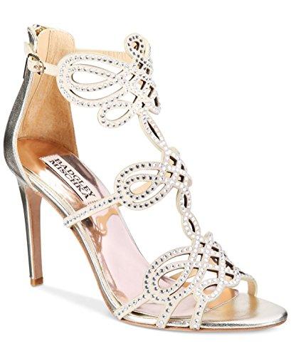 badgley-mischka-damen-sandalen-metallic-platin
