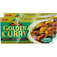 S & B Golden Curry medio caliente (sin carne se incluye) 220g