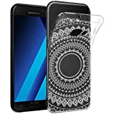 Coque Samsung Galaxy A3 2017 , Buyus Coque Motif Zen Indien , Bords Renforcés Ultra Resistant , Absorption de Choc Integral pour Galaxy A3 (2017) A320
