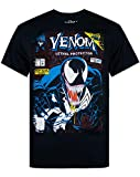 Marvel Venom Comic Men's Black T-Shirt (L)