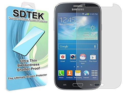 SDTEK Samsung Galaxy Grand Neo Plus Vetro Temperato Pellicola Protettiva Protezione Protettore Glass Screen Protector