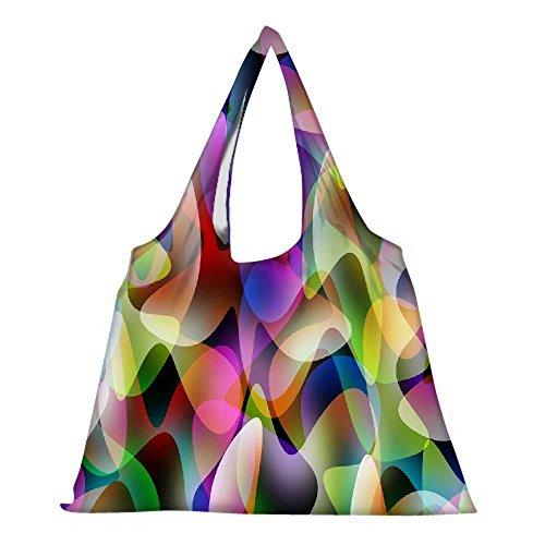 Snoogg High Strength Wiederverwendbare Einkaufstasche Fashion Style Lebensmittelgeschäft- Tasche Jhola (Lebensmittelgeschäft-stil Tasche)