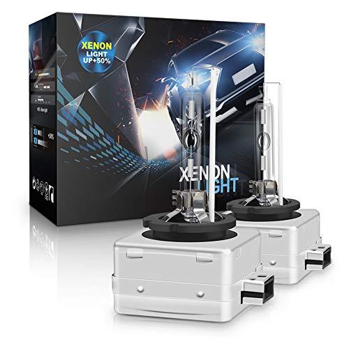 D1S Xenon Brenner - Aolead Hid Xenon Scheinwerferlampe 12V 35W, 8000K (2 Lampen) -