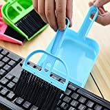 Multipurpose Plastic Mini Supdi Dustpan and Brush Broom Cleaning Set