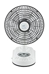 Akari Ak-8008 8 Rechargeable AC/DC Table Fan with LED Light